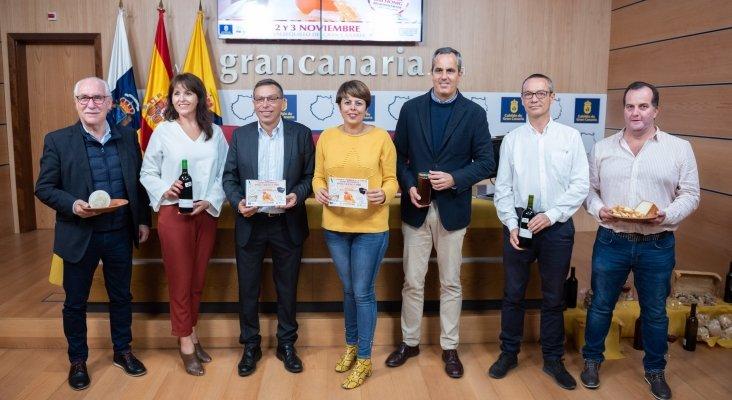 Presentación de la Feria Regional del vino, queso y miel en Gran Canaria