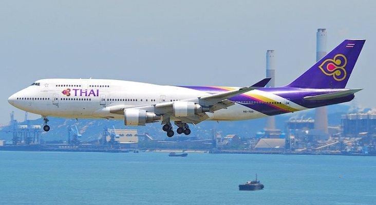 La aerolínea de bandera tailandesa, al borde de la quiebra | Foto: Aero Icarus (CC BY-SA 2.0)