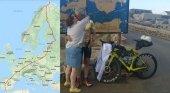 Récord Guinness: recorrió Europa de norte a sur en bici durante 16 días | Foto:  Iberobike.com