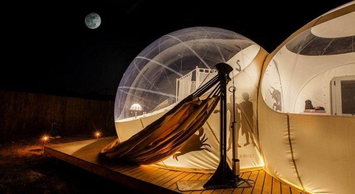 Dormir mirando las estrellas será posible en Càlig (Castellón) | Foto: valenciabonita.es