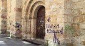 Los vándalos se ceban con el patrimonio artístico de Zamora | Foto: Ataque vandálico a la iglesia de San Esteban en 2016 vía zamora24horas.com
