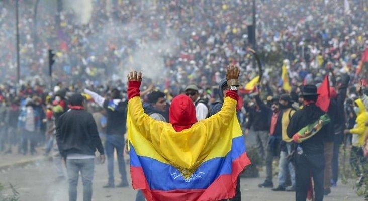 Quito, 26 millones de pérdidas en turismo por las protestas | Foto: AFP vía El Heraldo