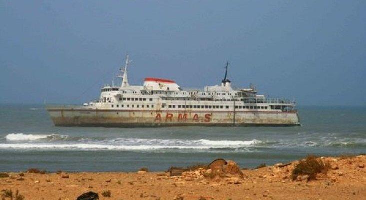Marruecos exige a Naviera Armas que retire su buque encallado en Tarfaya | Foto: Nubduk (CC BY-SA 4.0)