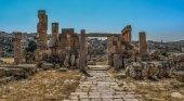 Apuñalan a varios turistas en las ruinas de Gerasa (Jordania)