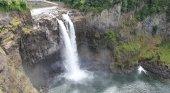 Snoqualmie Falls, las famosas cataratas que aparecen en 'Twin Peaks'