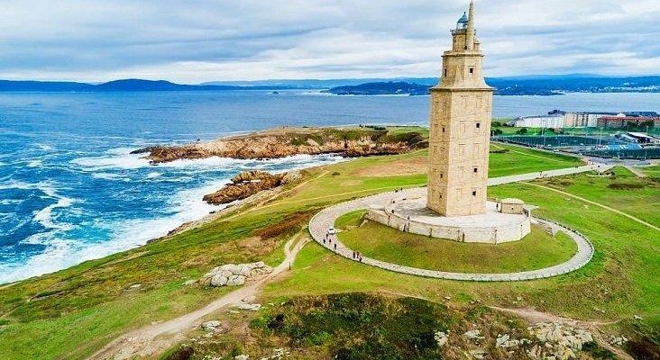 Galicia bate su récord turístico con más de 4 millones de viajeros  Foto: Torre de Hércules, A Coruña (Galicia)