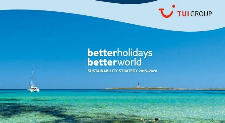 TUI Group Better Holidays Better World strategy EN cover