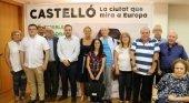 Amparo Marco, alcaldesa de Castelló en la presentación de la candidatura