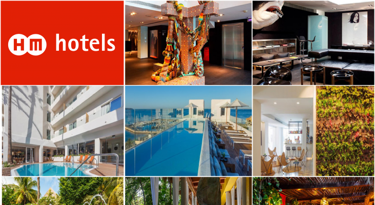HM Hotels colagge