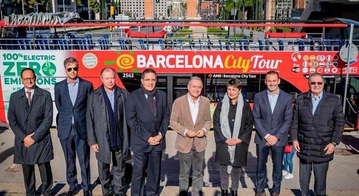 Llega a España el primer bus turístico 100% eléctrico y de emisiones cero