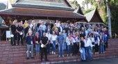 Participantes del Congreso Internacional de Calidad Turística en Loro Parque