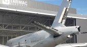 El desguace de Airbus A380, para repuestos de segunda mano Foto: EnElAire