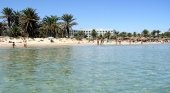 Playa de Susa, en Túnez