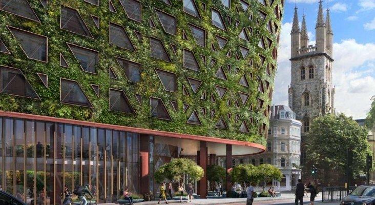 Nacen los hoteles árboles | Foto: Sheppard Robson vía Port
