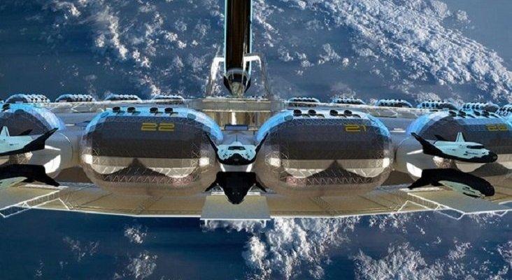 El primer hotel espacial abrirá sus puertas en 2025 | Foto: Fundación Gateway