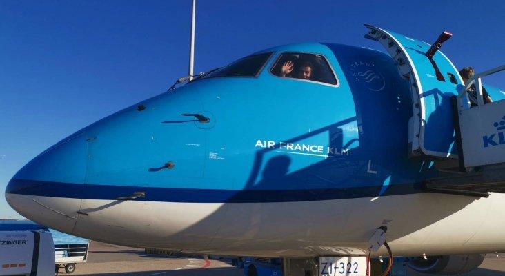 KLM recomienda cambiar el avión por el tren