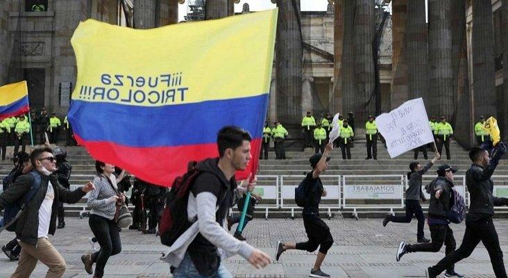 Las protestas en Colombia provocan cancelaciones y pérdidas en el turismo  Foto: rtve