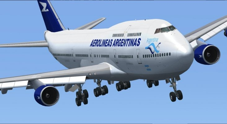 Boeing 747 400 Aerolineas Argentinas FSX 3