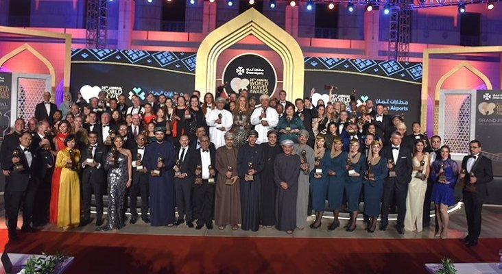 Foto de familia de todos los premiados World Travel Awards 2019