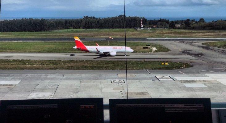 Aeropuerto de Asturias   Foto: La Voz de Galicia