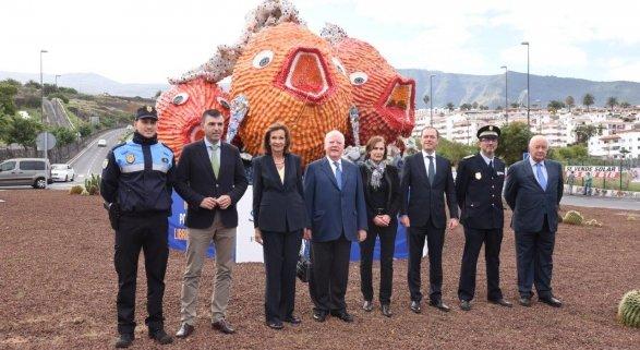 Loro Parque Fundación refuerza su compromiso con medioambiente con una nueva escultura