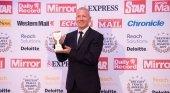RIU recibe el 'Oscar turístico' a Mejor Cadena Hotelera Todo Incluido | Foto: Paul Bunce, director de Market Development de RIU en Reino Unido, Irlanda y los países Nórdicos