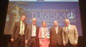 Antonio Garzón, Harald Pechlaner, Natalia Martínez Páramo, Jafar Jafari Y Pere Granados. VII Foro de Turismo Maspalomas, Canarias