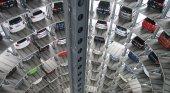 Vehículos en un parking