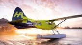 El primer avión comercial eléctrico supera con éxito su vuelo de prueba | Foto: Harbour Air Seaplanes vía Twitter