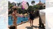 Polémica por la utilización de una cría de elefante en una fiesta de hotel | Foto: Intriper
