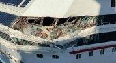 Colisionan dos cruceros de Carnival en el puerto de Cozumel (México)|Foto: CNN