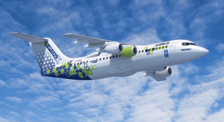 Airbus impulsa los vuelos de cero emisiones con el E-Fan X | Foto: airbus.com