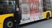 Granada y Jaén se promocionan en los autobuses de Berlín Foto: IDEAL