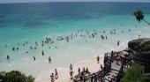 México incumple su promesa de trasladar la Secretaría de Turismo a Quintana Roo | Foto: Tulum, Quintana Roo- Jack at Wikipedia (CC BY-SA 2.0)