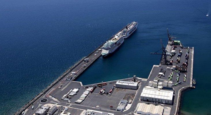 Arrecife (Lanzarote) recibe 14 grandes cruceros en cinco días  Foto: spanishports.es