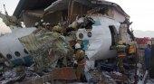 15 muertos y 85 supervivientes tras estrellarse un Fokker-100en Kazajstán|Foto: Ministerio de Comunicación de Kazajstán