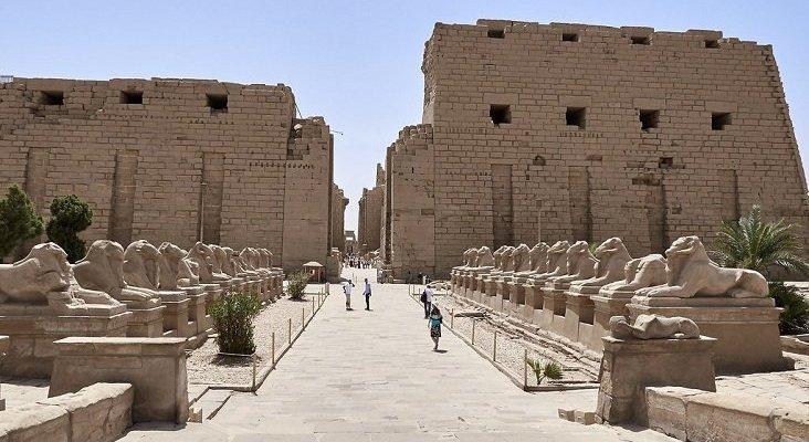 Polémica en Egipto por el traslado de esfinges de Lúxor a El Cairo | Foto: Edgardo W. Olivera  (CC BY 2.0)