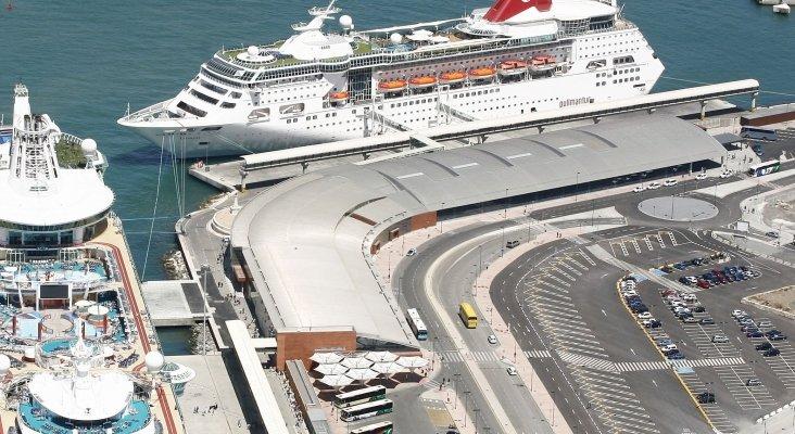La actividad crucerística del Puerto de Málaga sigue congelada|Foto: Puerto de Málaga