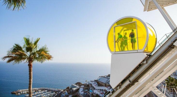 El proyecto de funicular de un hotel de Canarias, el mejor del mundo | Foto: Riosol Hotel vía Facebook