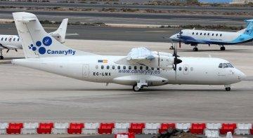 """Propósito de """"década nueva"""" de Canaryfly: ofertar vuelos nacionales e internacionales   Foto: Denis Fedorko (CC BY-SA 4.0)"""