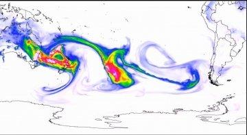 ¿Amenaza el humo de los incendios de Australia al tráfico aéreo del Pacífico?