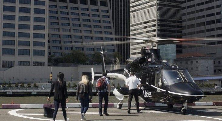 Hyundai y Uber se alían para impulsar un servicio de taxis aéreos | Foto: Servicio Uber Copter- Uber vía Business Insider