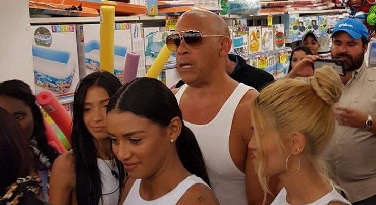 La estrella estadounidense Vin Diesel, de vacaciones en R.Dominicana|Foto: Bávaro Digital