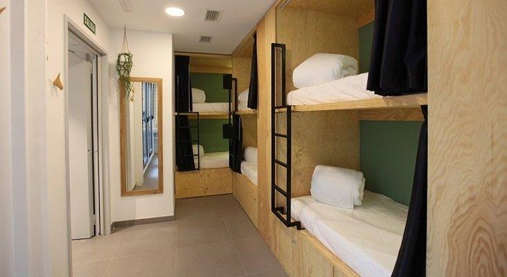 Un edificio en ruinas se convierte en el primer hostel cápsula de Aragón | Foto: thebotanichostel.com