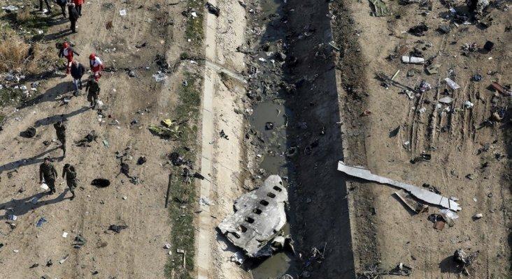 Irán derribó con misiles antiaéreos el Boeing 737 de Ukraine Airlines