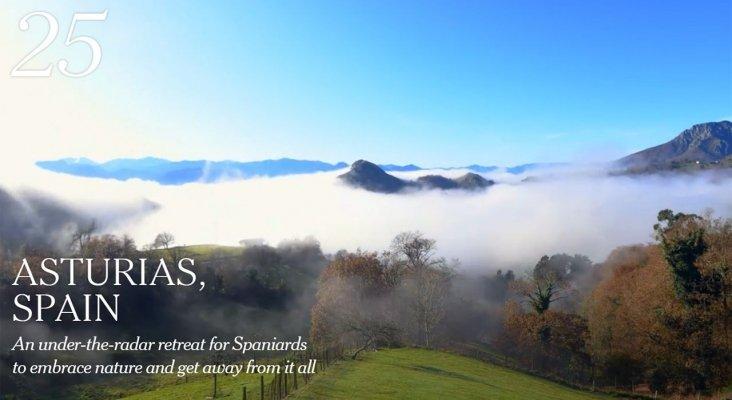 Asturias, que ocupa el puesto 25