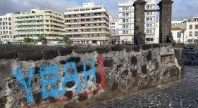 El patrimonio cultural de Canarias vuelve a ser víctima de los vándalos   Foto: Concejalía de Obras Públicas del Ayuntamiento de Arrecife