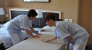 La tendinitis de hombro será enfermedad profesional de las Kellys   Foto: Diario de Sevilla