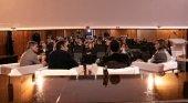 Lanzarote exporta sus prácticas sostenibles a Galicia | Foto: Héctor Fernández, consejero delegado de SPEL-Turismo Lanzarote (primero por la izq.)