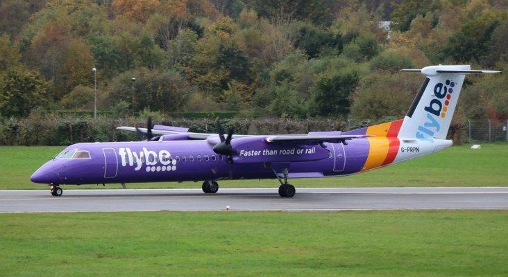 El Gobierno británico rescata a Flybe | Foto: Marvin Mutz (CC BY-SA 2.0)